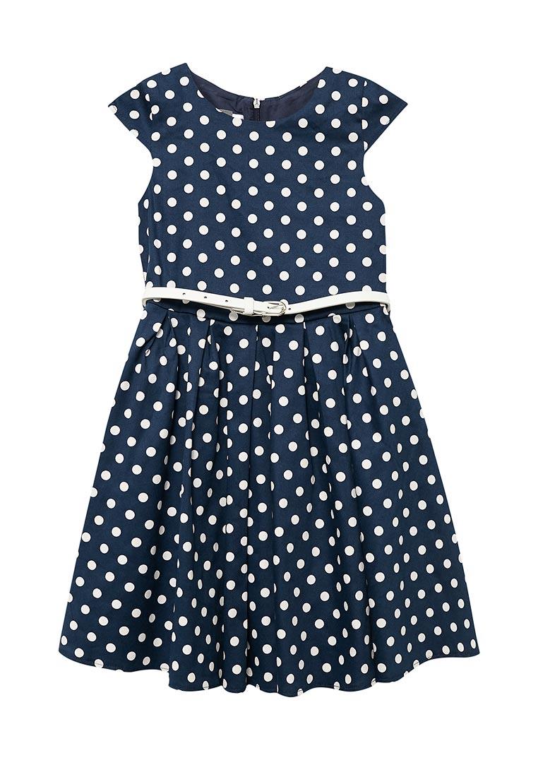Нарядное платье Shened SH17210синий-116-122
