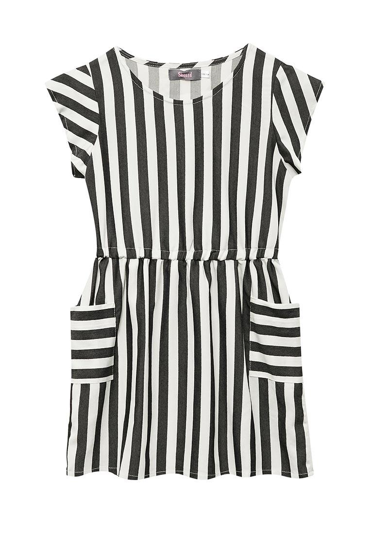 Повседневное платье Shened SH17240полоска-128-134