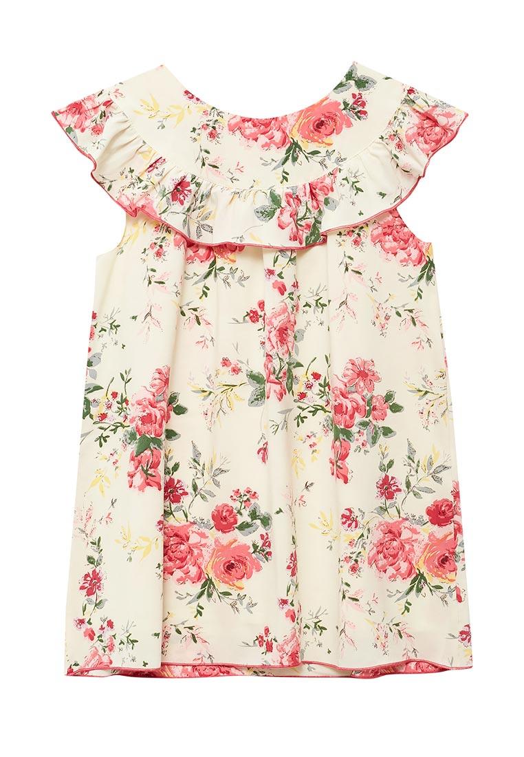 Повседневное платье Shened SH17270кремовый-116-122