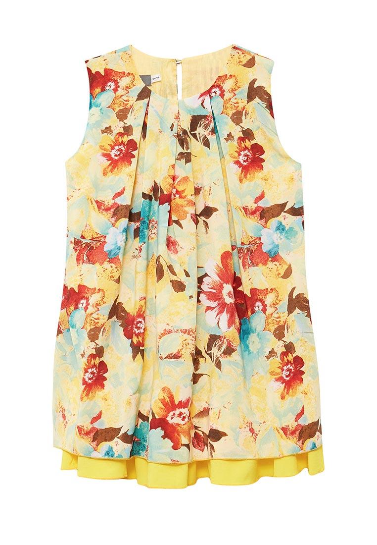 Повседневное платье Shened SH17280желтый-104-110