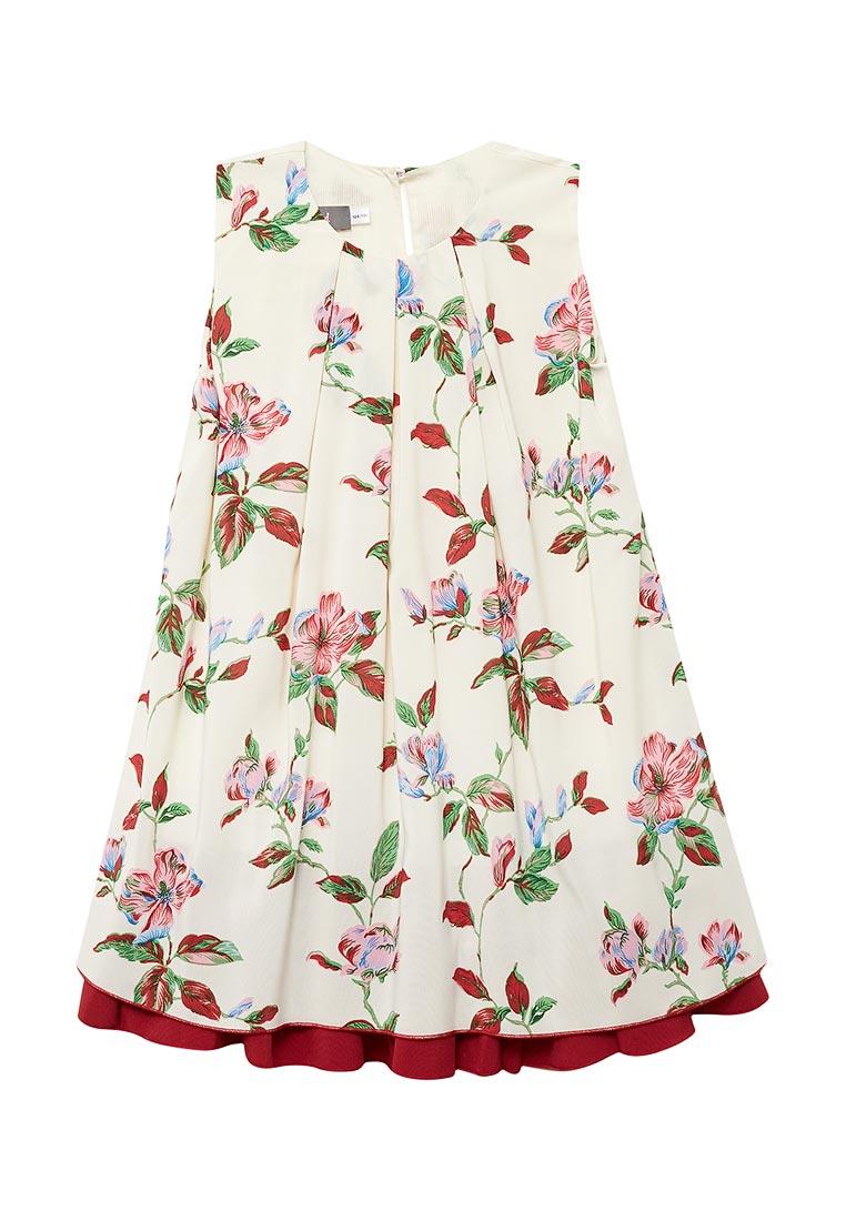 Нарядное платье Shened SH17280кремовый-104-110
