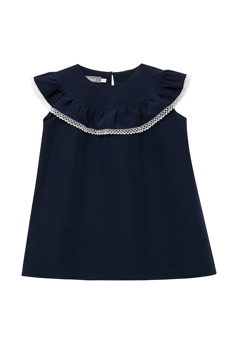 Повседневное платье Shened SH17509синий-116-122