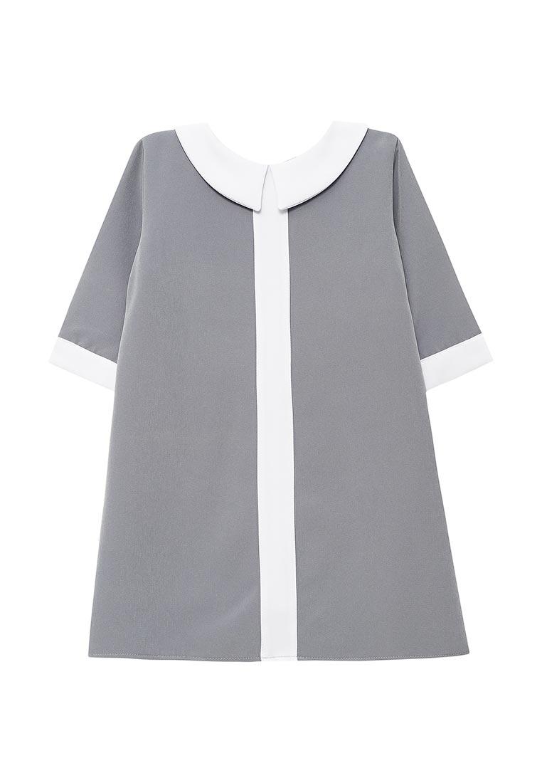 Повседневное платье Shened SH17501серый-116-122