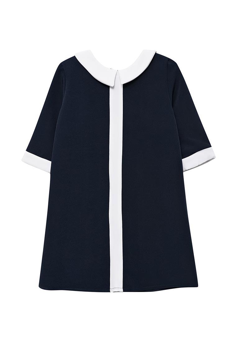 Повседневное платье Shened SH17501синий-116-122