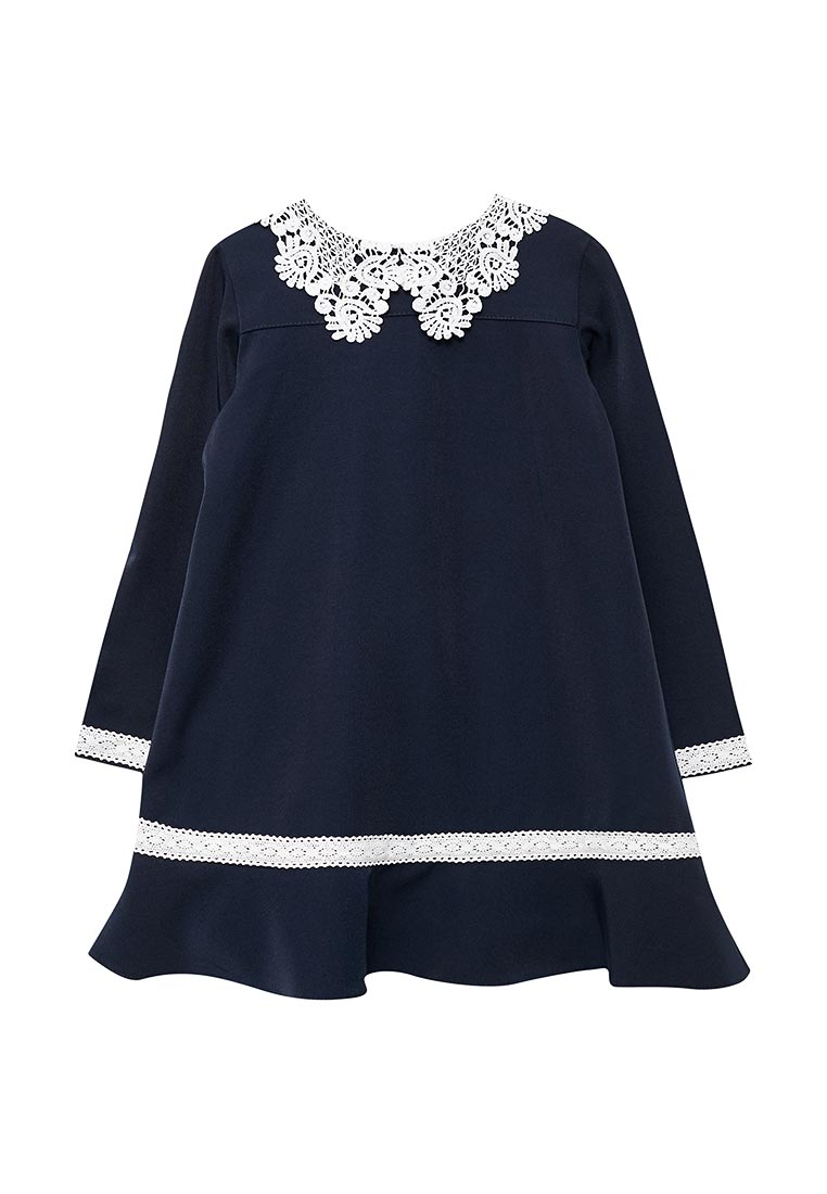 Повседневное платье Shened SH17503синий-116-122