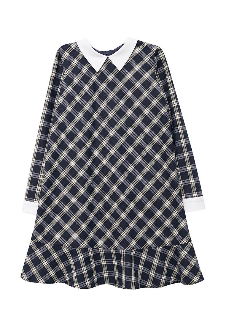Повседневное платье Shened SH17510синий-128-134