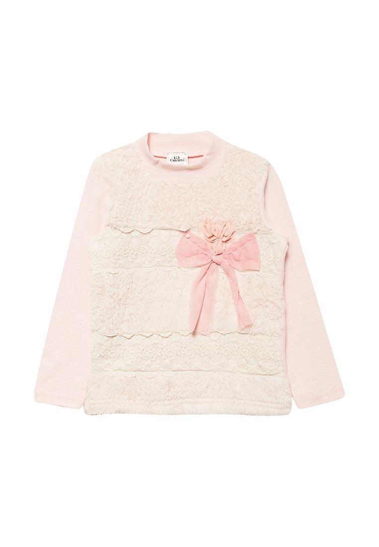 Пуловер Cascatto KDD1/24-3/98-104-розовый