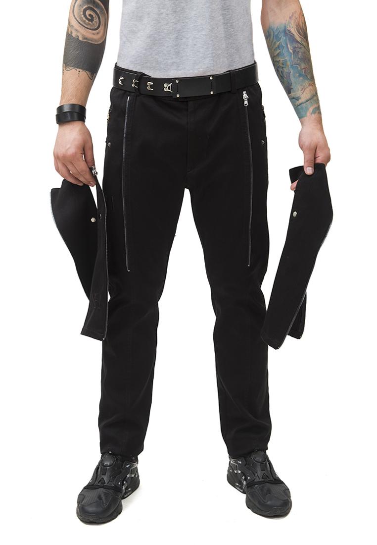 Мужские повседневные брюки Pavel Yerokin BSU-1-черный-44