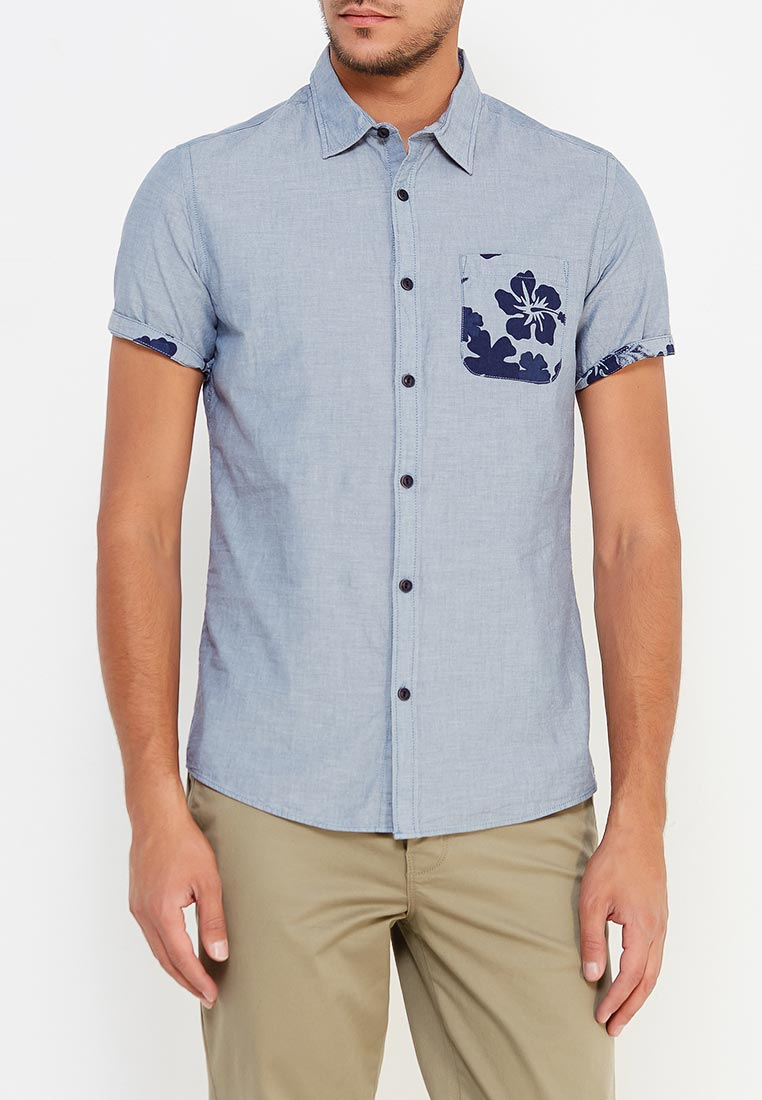 Рубашка с коротким рукавом Colin's CL1020824_INDIGO_S