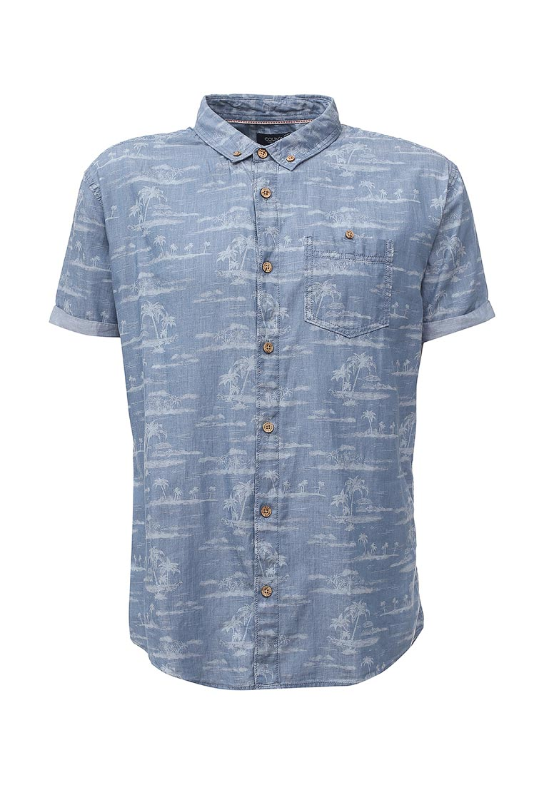 Рубашка с коротким рукавом Colin's CL1020836_BLUE_S