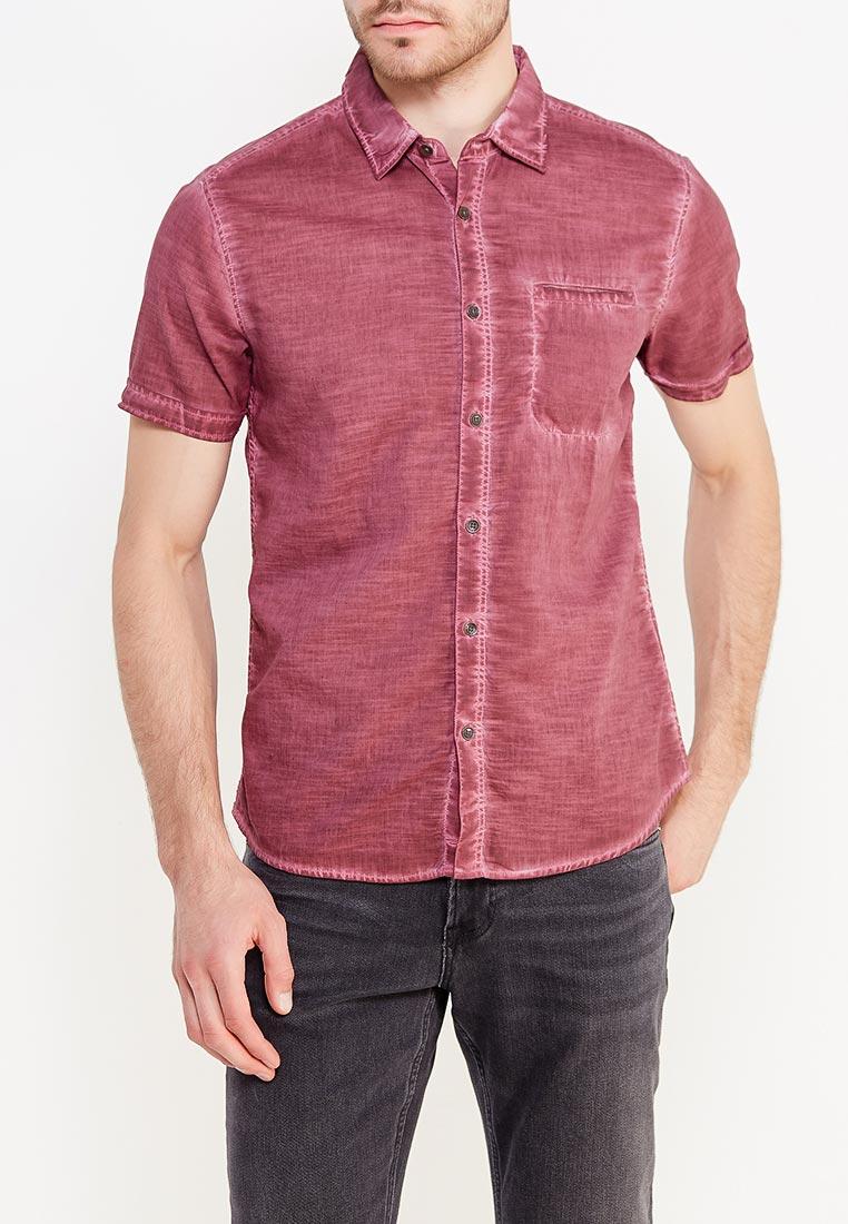 Рубашка с коротким рукавом Colin's CL1020049_BORDEAUX_S