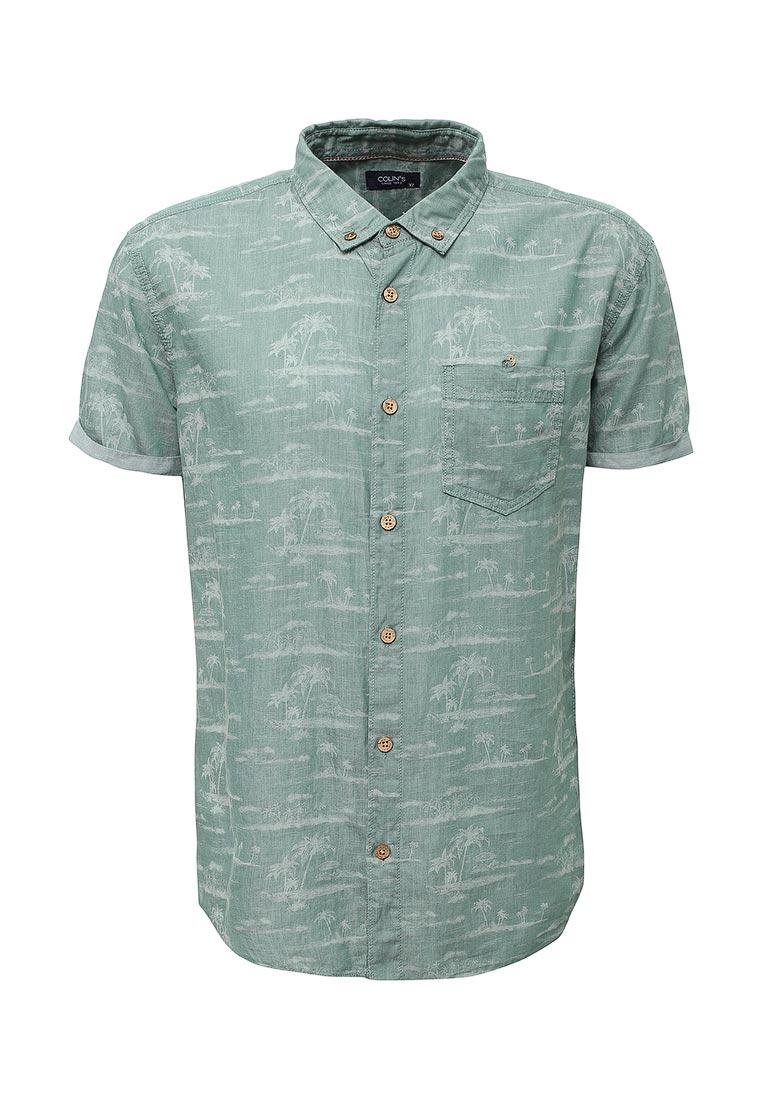 Рубашка с коротким рукавом Colin's CL1020836_GREEN_S