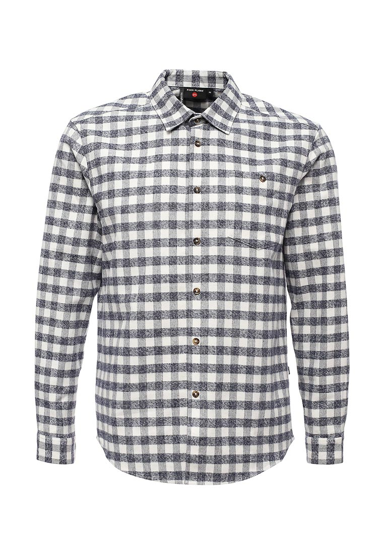Рубашка с длинным рукавом Finn Flare (Фин Флаер) A17-42030-101-M