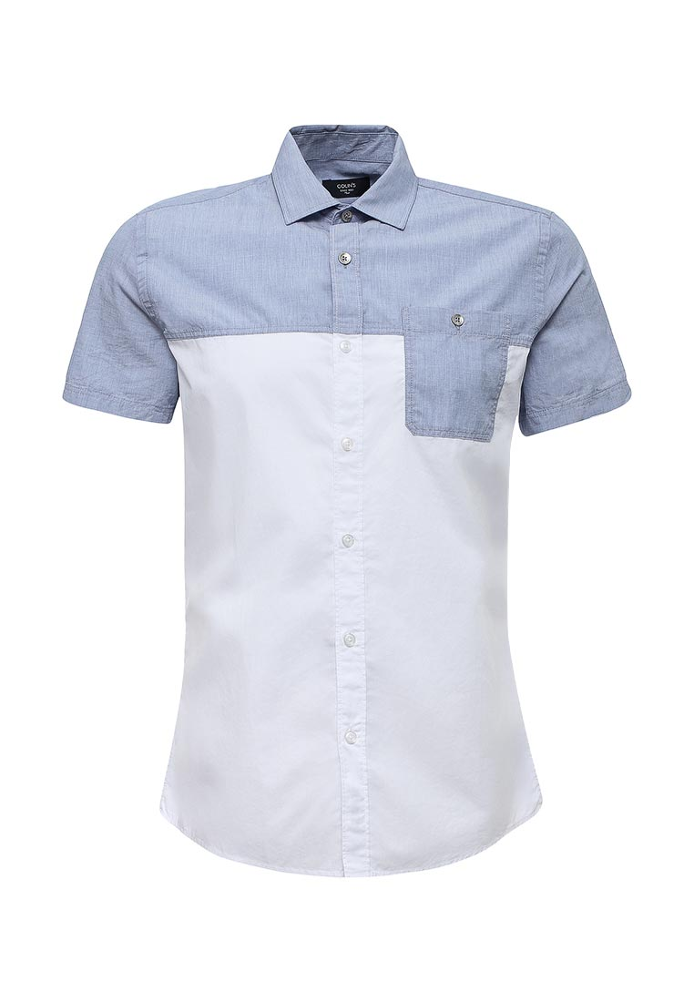 Рубашка с коротким рукавом Colin's CL1029805_BLUE_S