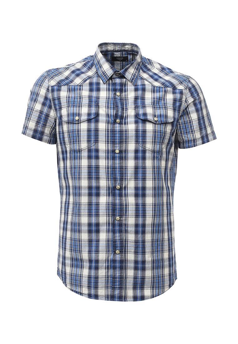 Рубашка с коротким рукавом Colin's CL1027816_NAVY_S