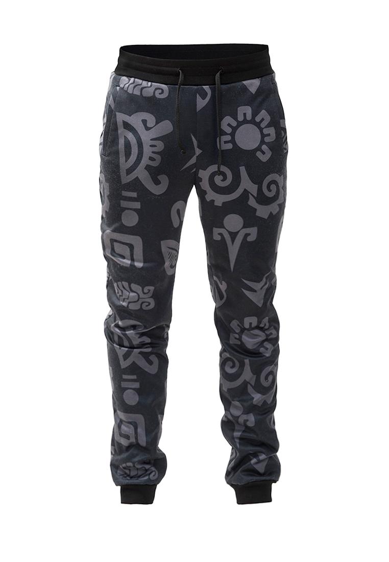 Мужские спортивные брюки Pavel Yerokin SPEU-1-черный/серый-44