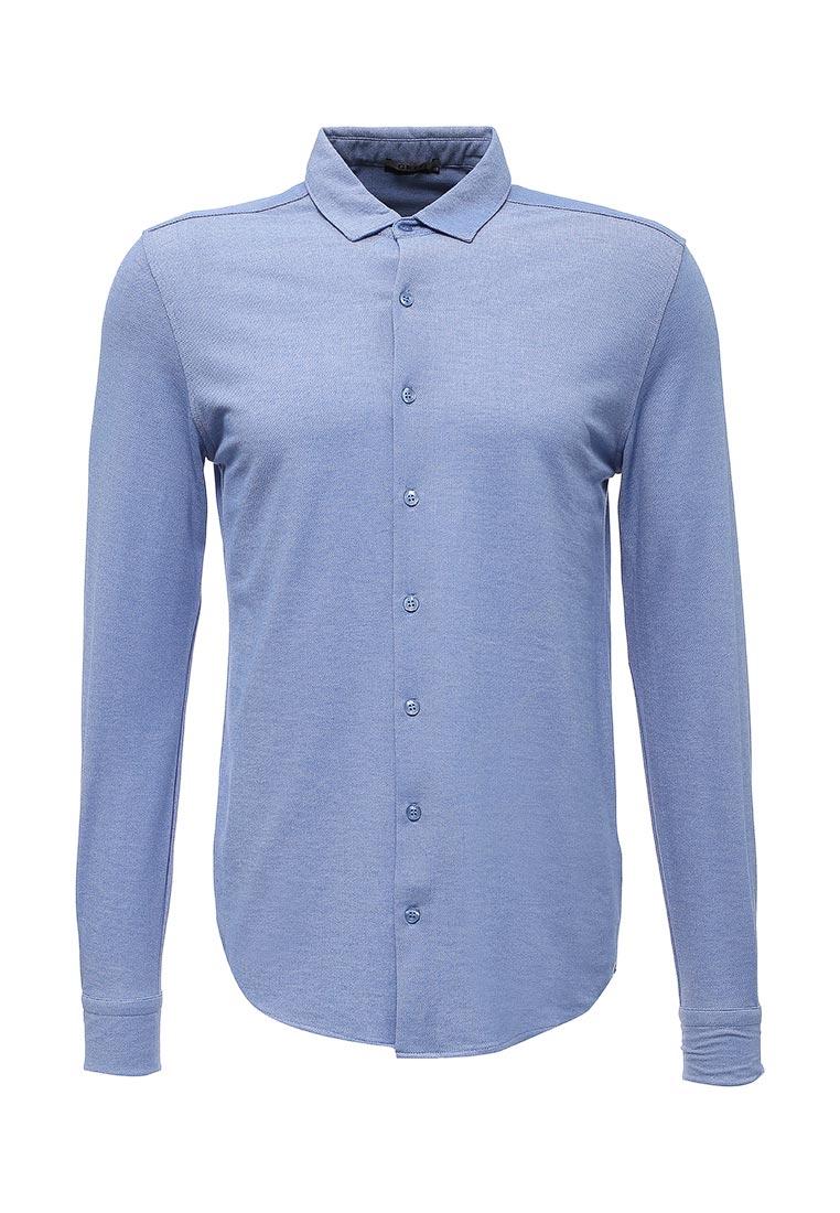 Рубашка с длинным рукавом GREG G143-ML (голубой) (2/48)