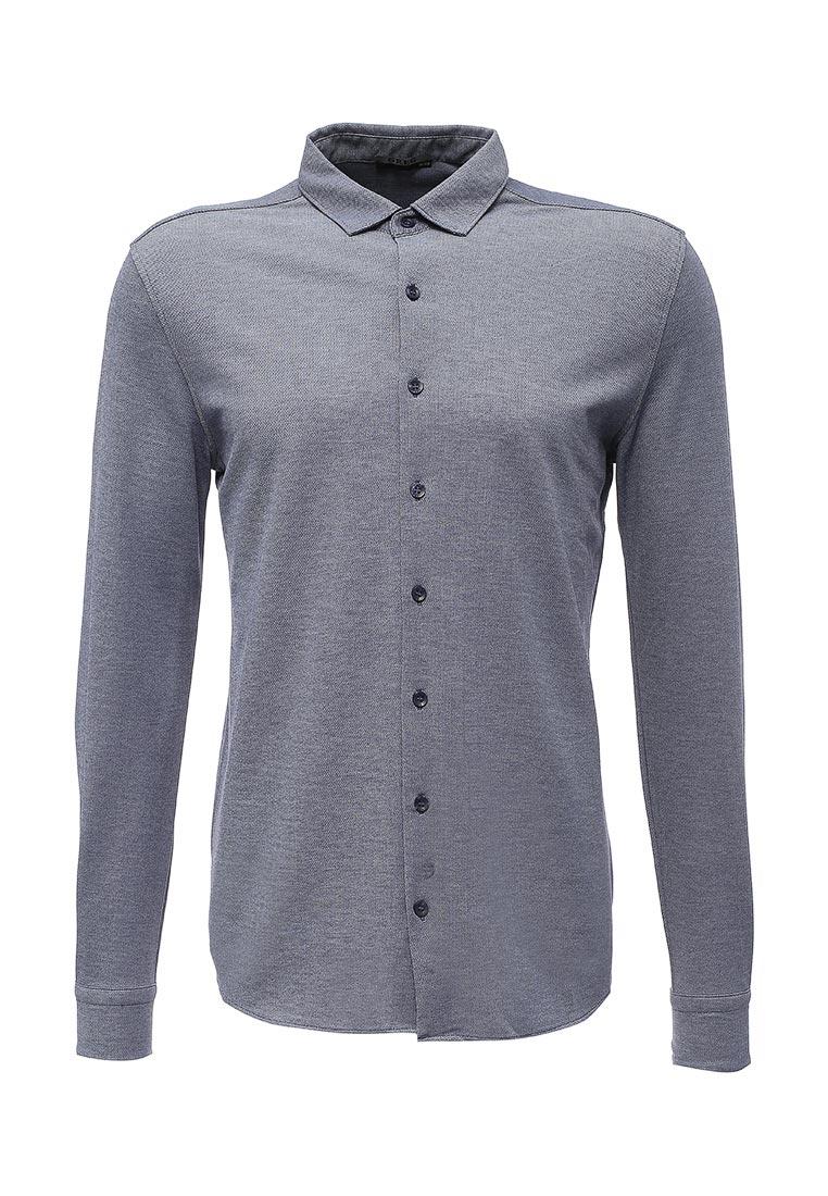Рубашка с длинным рукавом GREG G143-ML (синий) (2/48)
