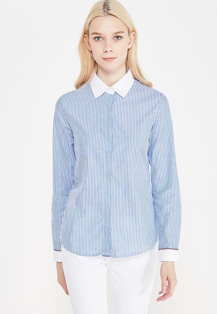 Женские рубашки с длинным рукавом MARIMAY 16257blue-S