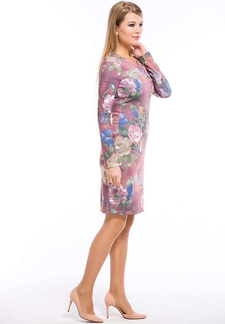 Повседневное платье Remix 7556/1 pink 42