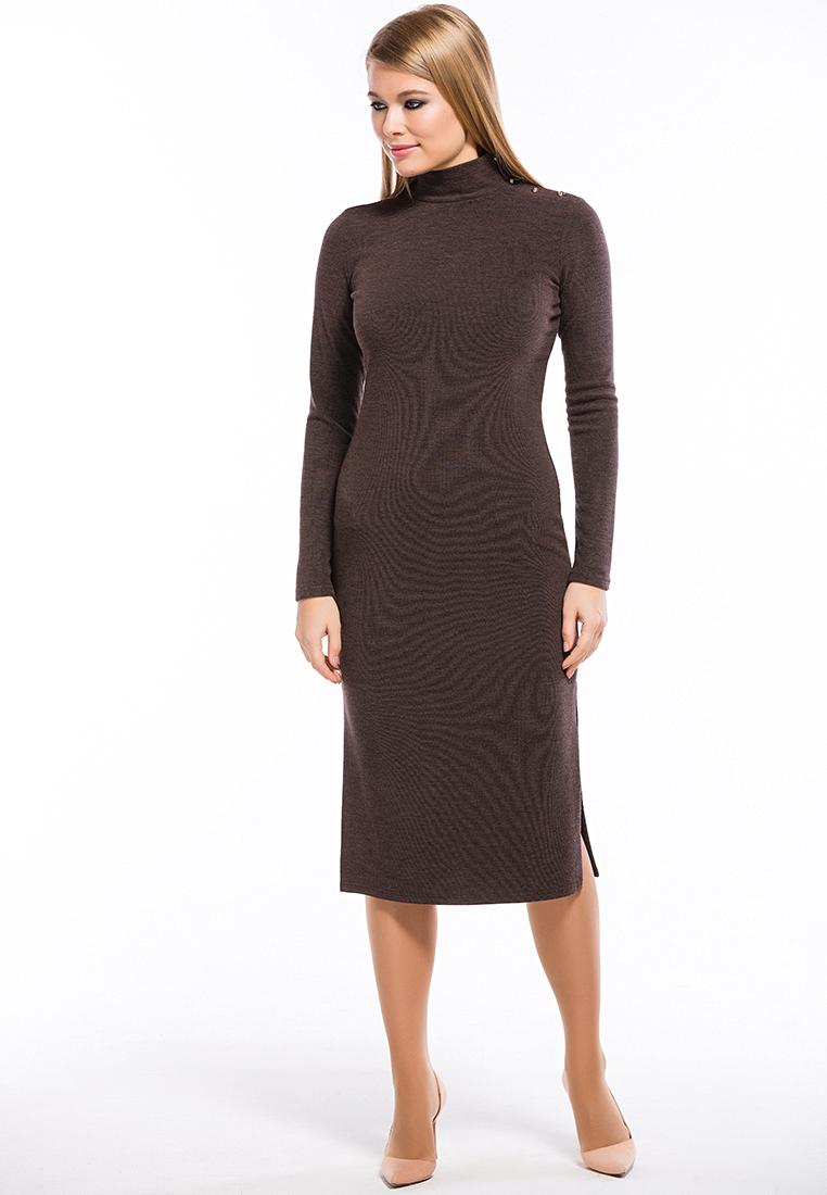 Повседневное платье Remix 7558/1 brown 42