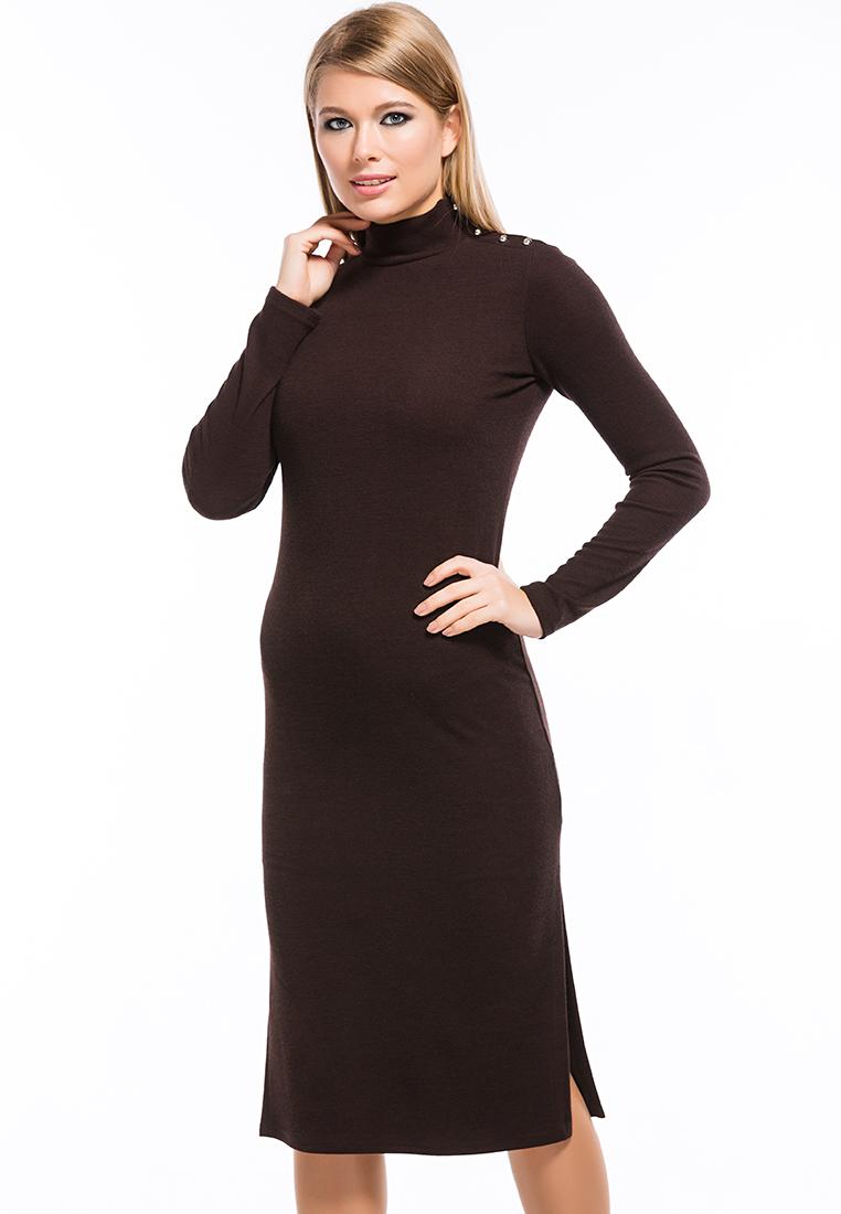 Повседневное платье Remix 7558/2 brown 42