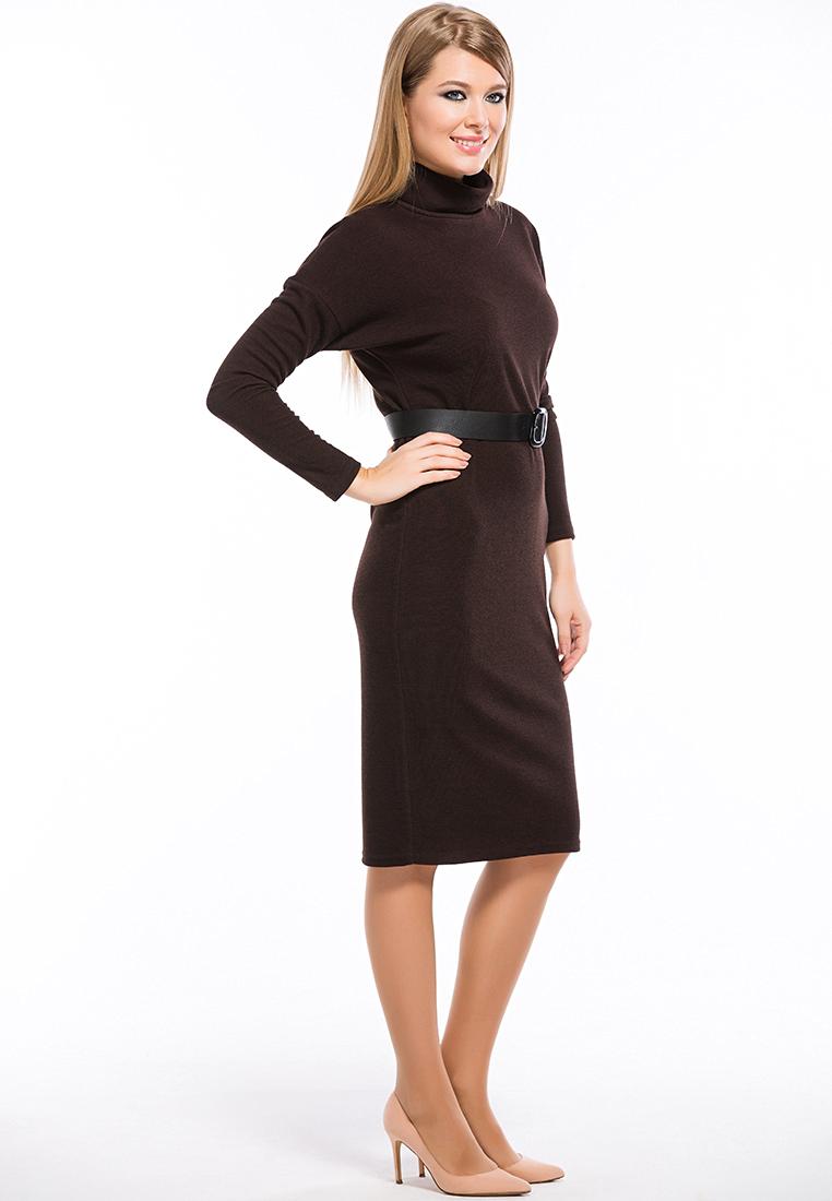 Повседневное платье Remix 7553/1 brown 42