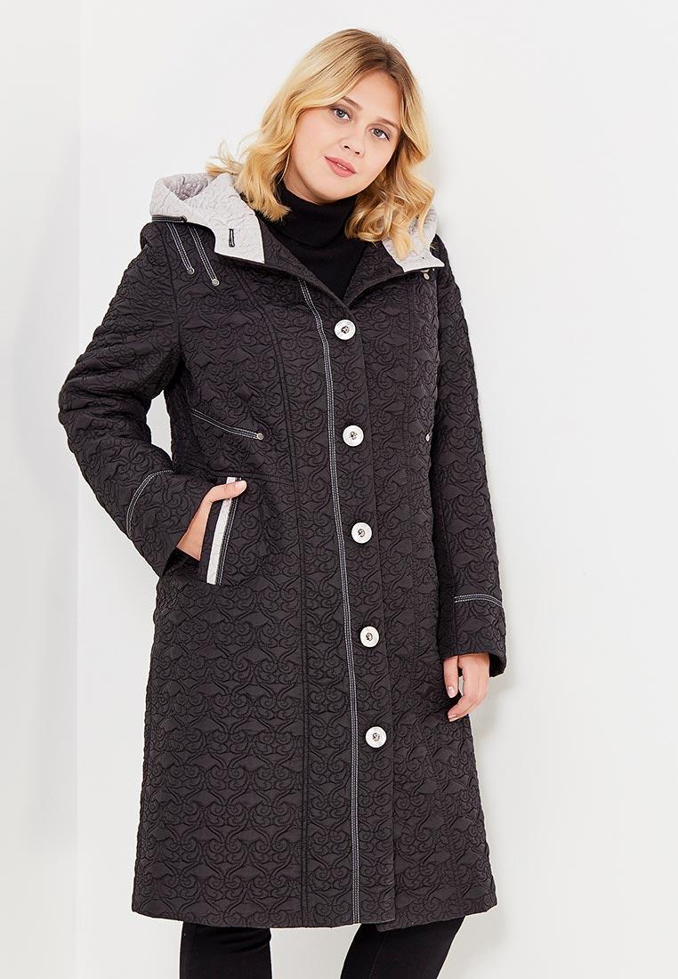 Утепленная куртка Brillare 3-802-19/70chernuj/sv.bezevuj-50
