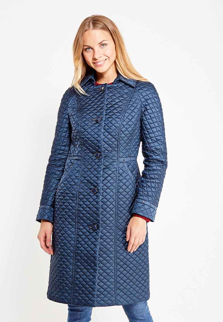 Утепленная куртка Brillare 3-828-8/91temnaya biruza-44