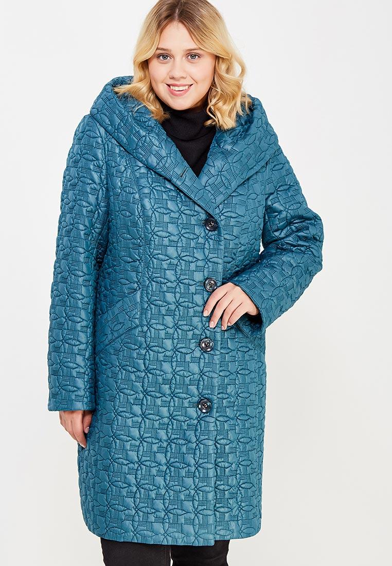 Утепленная куртка Brillare 3-443-29biruza-50