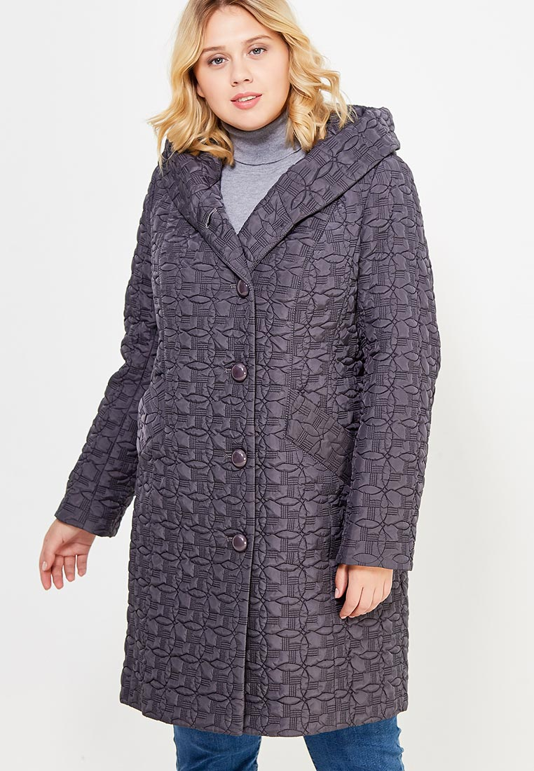 Утепленная куртка Brillare 3-443-29dumchato-seryj-48
