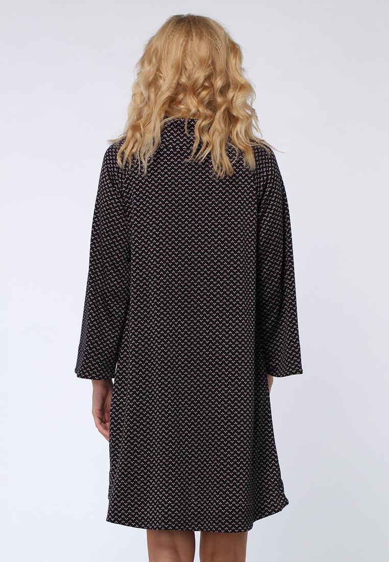 Вязаное платье Kata Binska NIKA2638-черный/фуксия-44-46