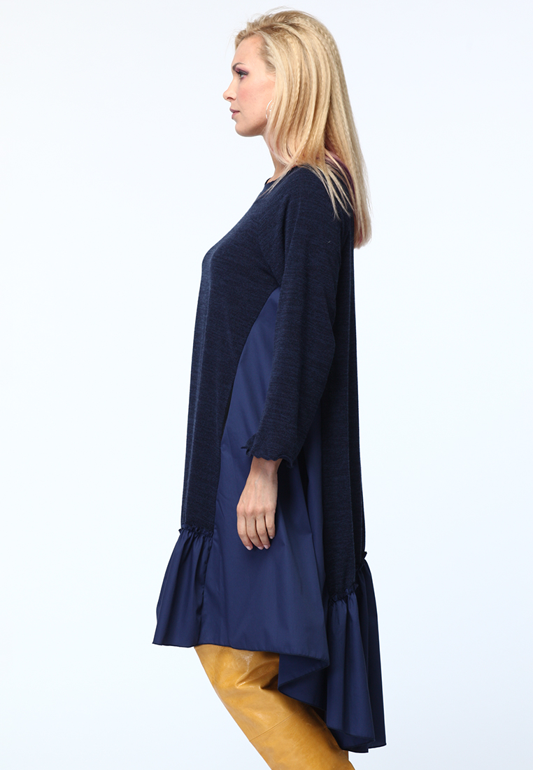 Повседневное платье KATA BINSKA LIRA1550-темно-синий-46-48