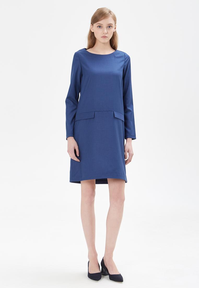 Повседневное платье Base Forms DC10-06BL-M