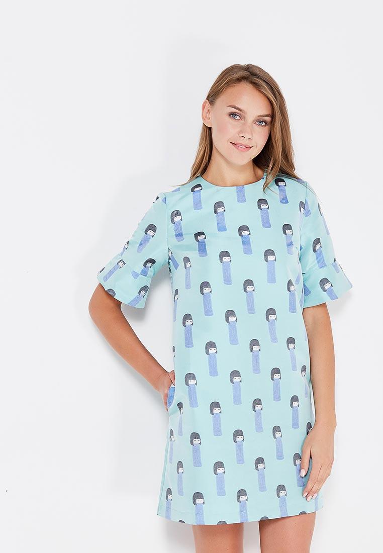 Платье CLABIN 211-40goluboy