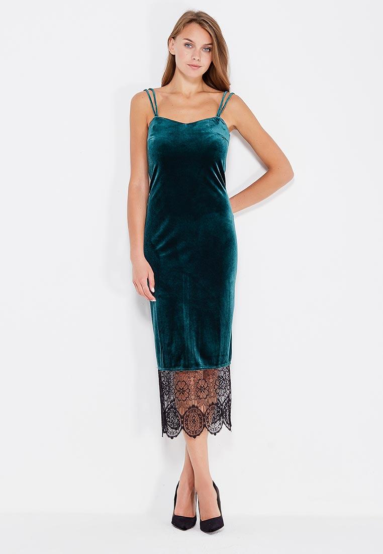 Вечернее / коктейльное платье CLABIN 208-40zeleniy