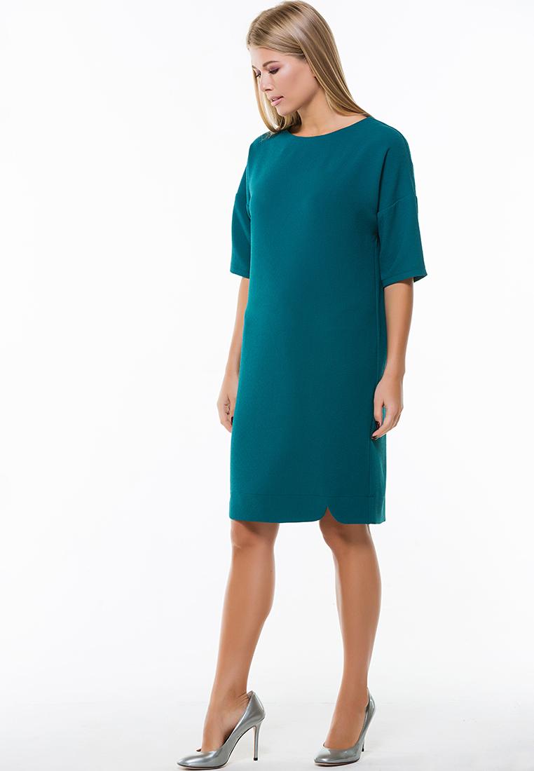 Повседневное платье Remix 7554/2 green 44