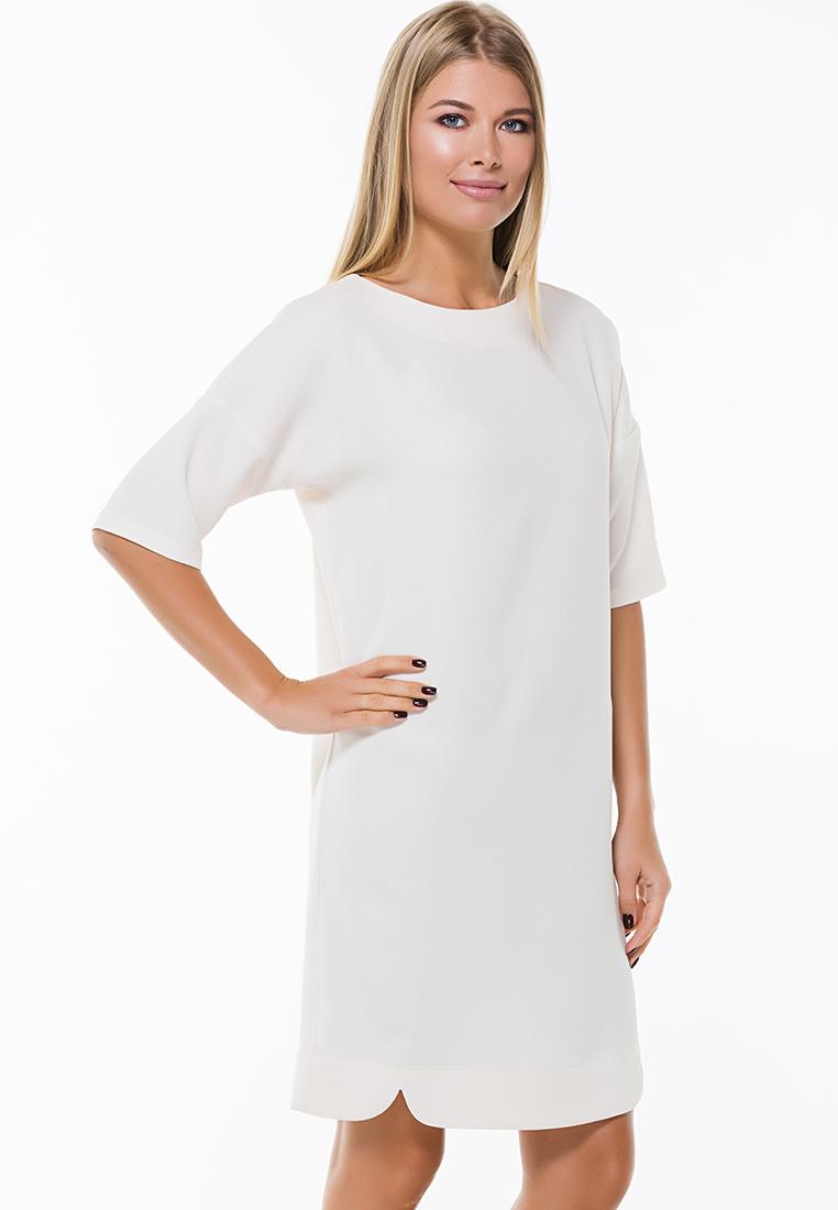 Повседневное платье Remix 7554/3 beige  44