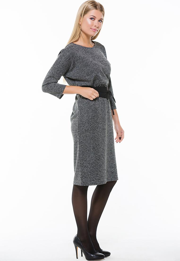 Вязаное платье Remix 7560  Black 44