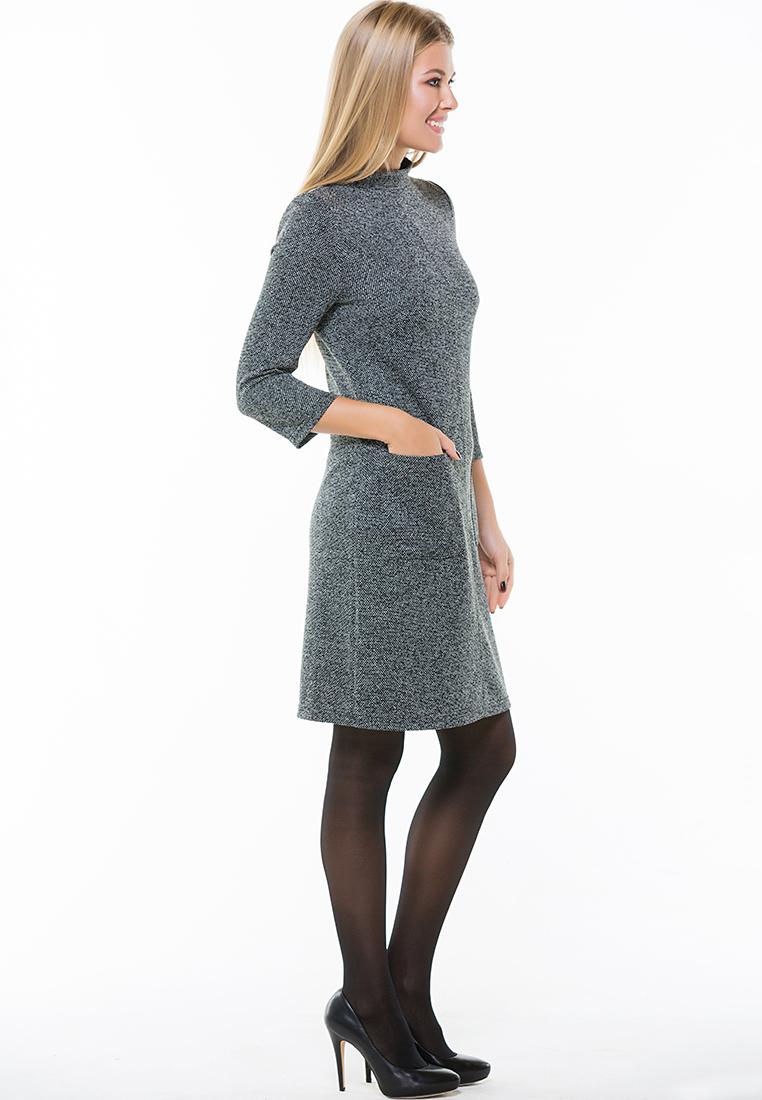 Вязаное платье Remix 7561  Black 42