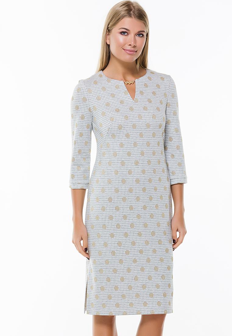 Повседневное платье Remix 7563 gray 42