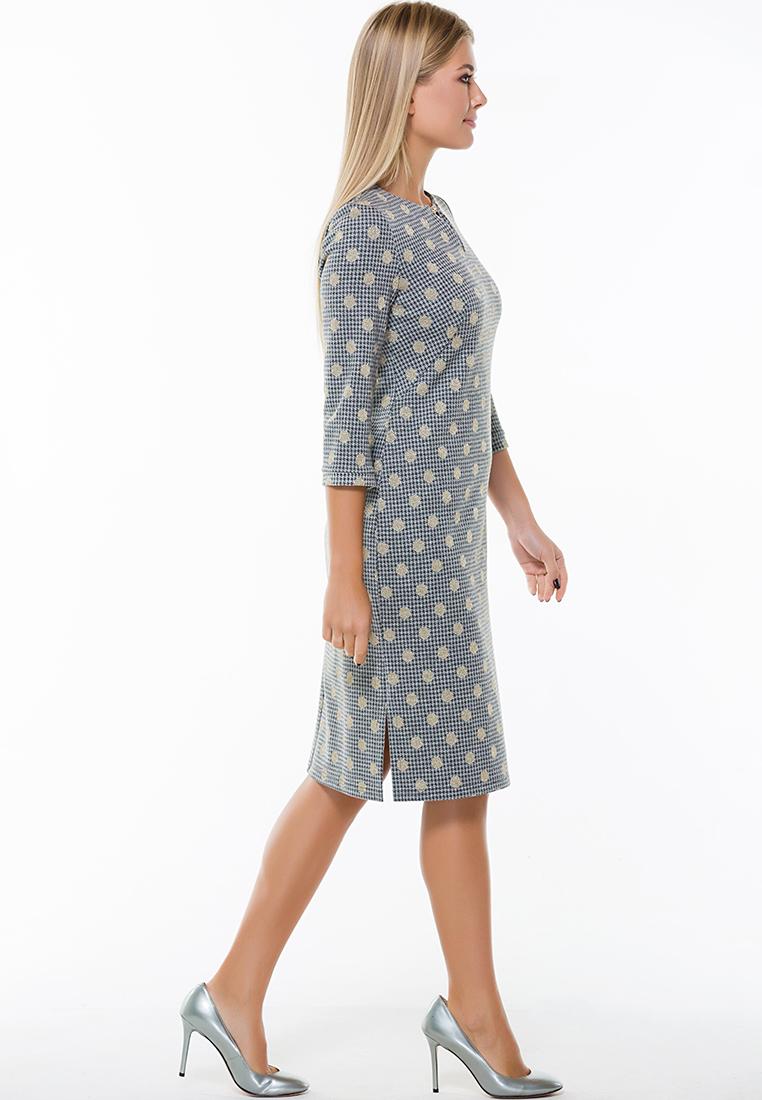 Повседневное платье Remix 7563/1 gray 42