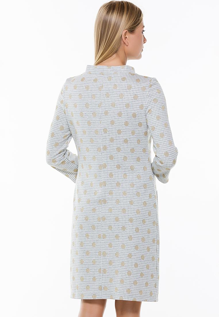 Повседневное платье Remix 7565 gray 42