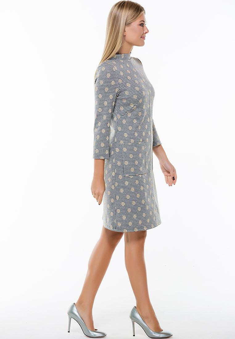 Повседневное платье Remix 7565/1 gray 42