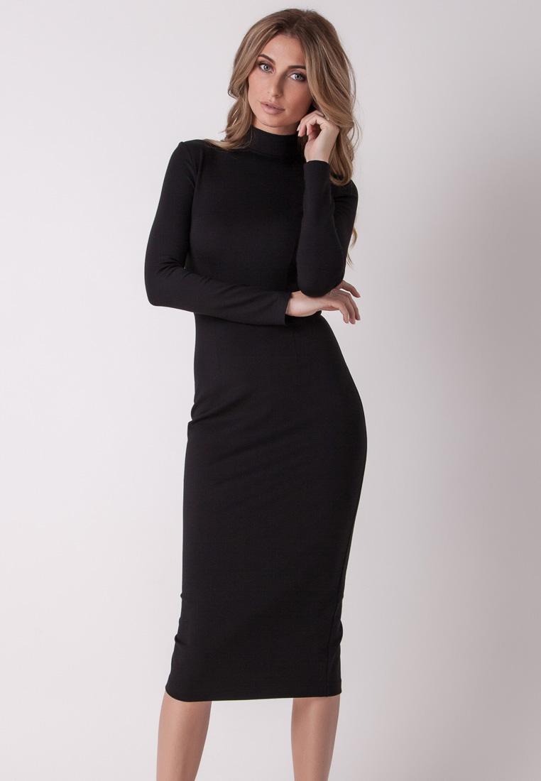 Платье-миди Olga Skazkina (Ольга Сказкина) 160801_черный_40