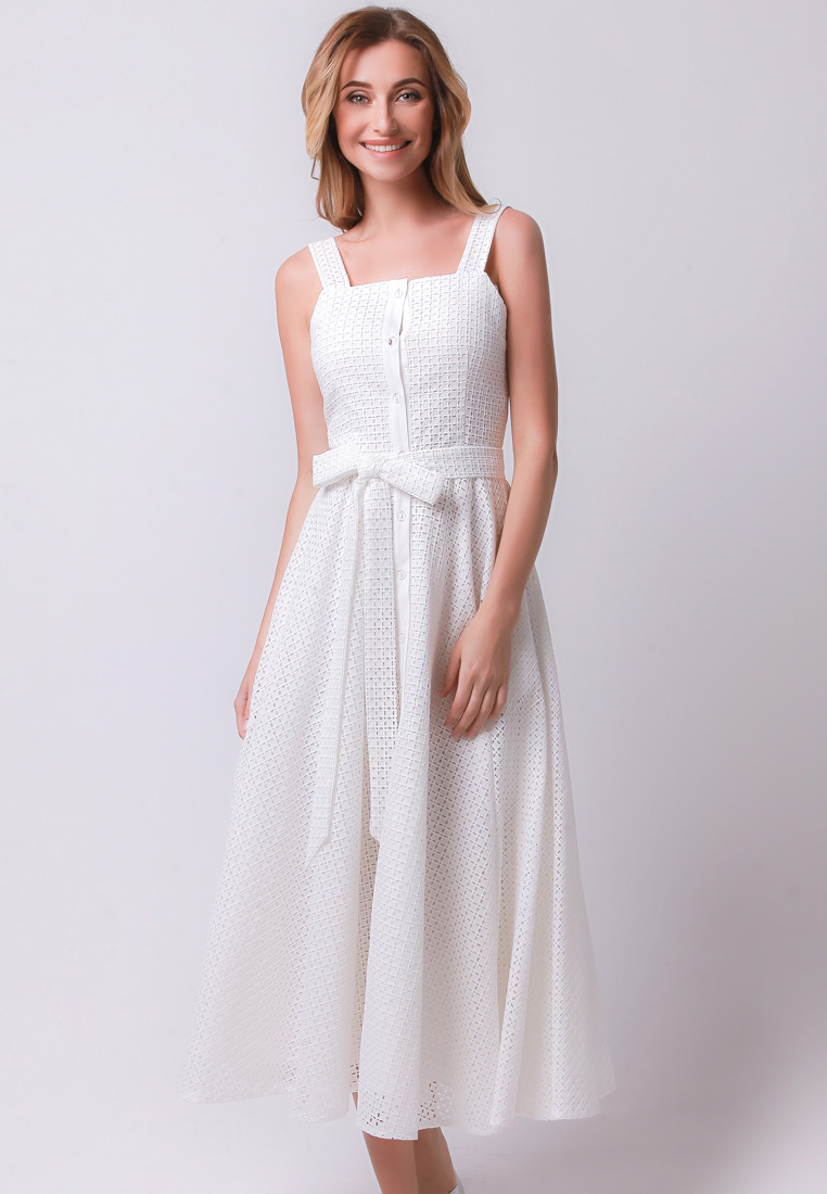 Платье-миди Olga Skazkina 170550_айвори_40
