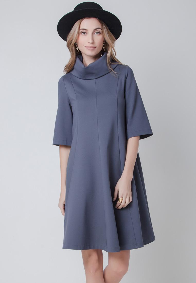 Повседневное платье Olga Skazkina 160805_графит_40