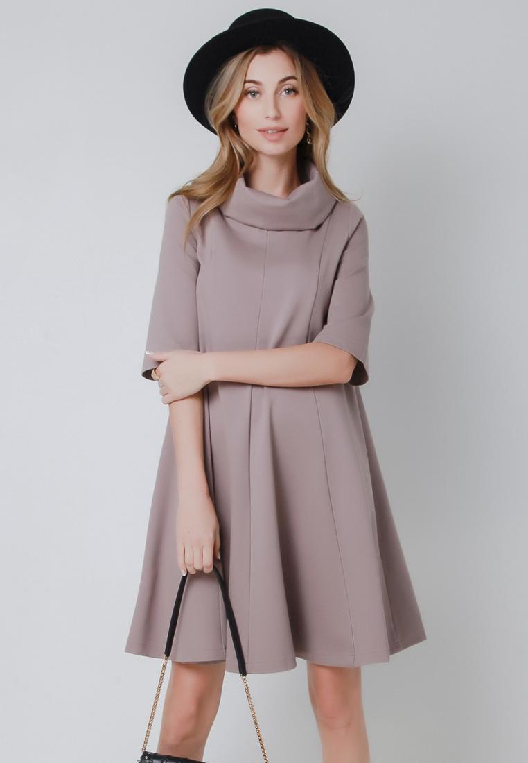 Повседневное платье Olga Skazkina (Ольга Сказкина) 160805_пепел_розы_40