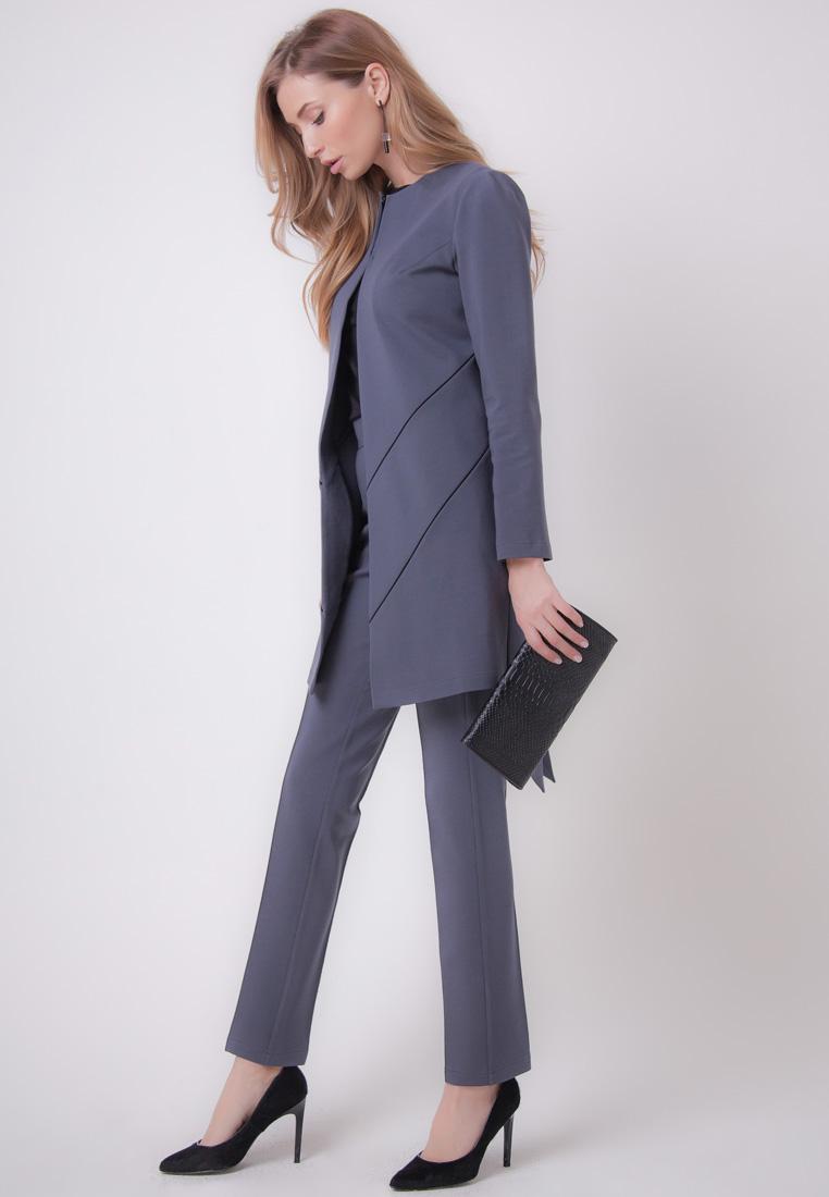 Костюм с брюками Olga Skazkina 160704_графит_40