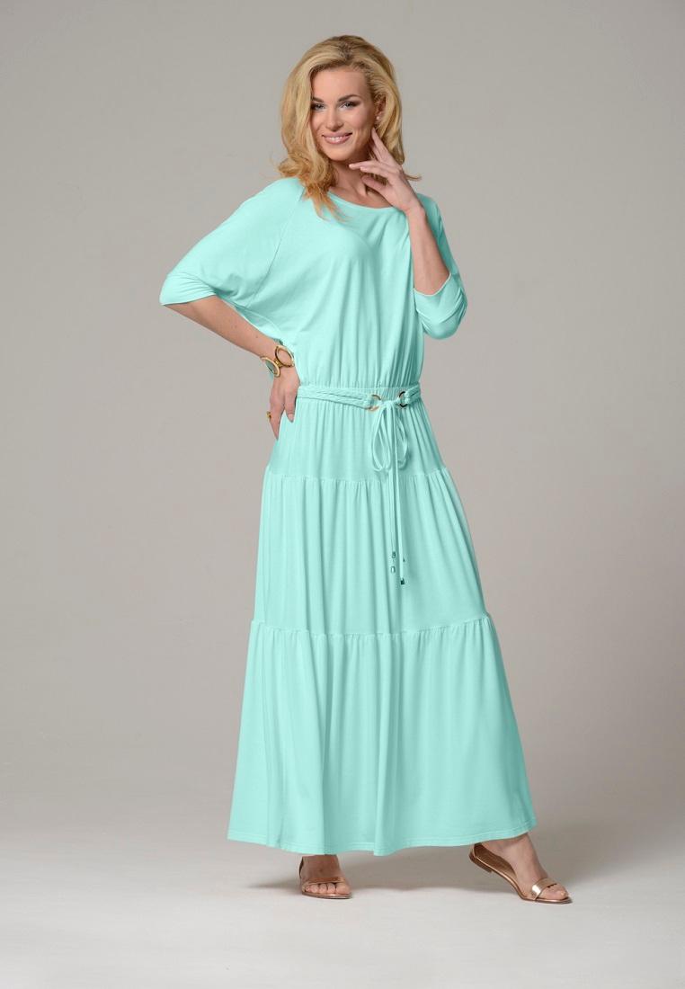 Платье-макси Petit Pas ACL036 мята L
